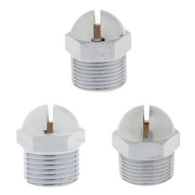 3x Security Protection Water Curtain Sprayer Fire Sprinkler Heads 15/20/25mm
