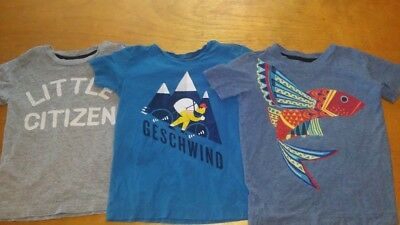tea collection size 6 boys lot of 3 tees