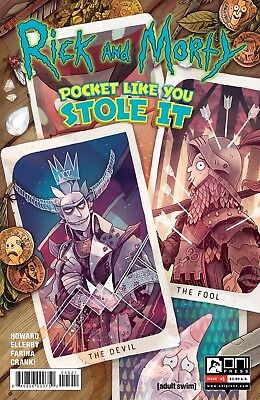 Rick and Morty Pocket Like You Stole It Issue #5 of 5 Variant Cover Oni Press