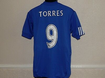 separation shoes fe513 55676 CHELSEA FOOTBALL HOME Shirt Jersey Fernando Torres 9 ,Mens Large