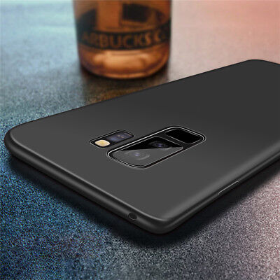 Ultra Slim Shockproof Silicone Case Cover for Samsung Galaxy S9 Plus S8 Note 8