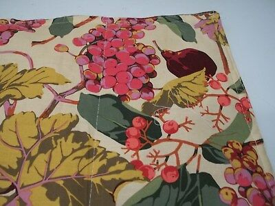 Fruits an berries 4 placemats 18 x15 .reversable4 Placemats