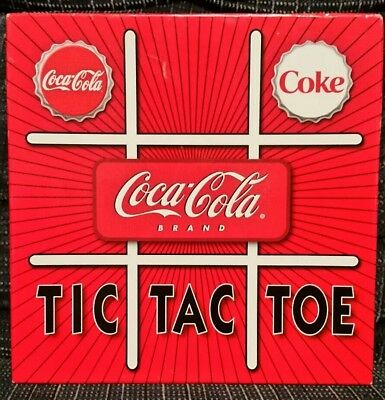 COCA COLA Tic Tac Toe / Checkers (2004)