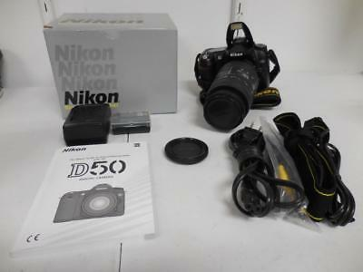 NIKON D50 6.1MP SLR Camera with Sigma Lens Batteries with Charger
