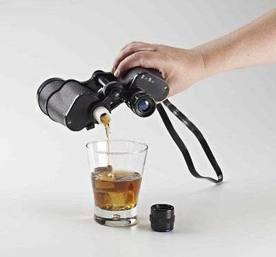 Binocular Flask Hidden Flasks Secret Liquor Alcohol Drinking Bar Camping Travel