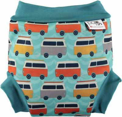 New Close Pop-In Swim Nappy Campervan Green Free Express Shipping