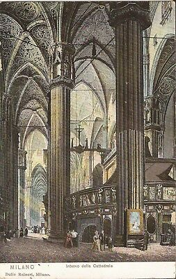 Milan, ITALY - Cathedral - Interior View - ARCHITECTURE