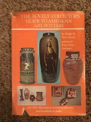 The Kovel's Collector's Guide to American Art Pottery Book, 1974
