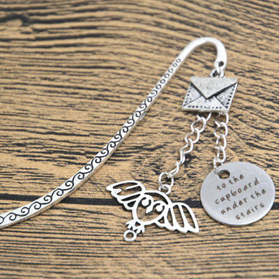 Wizarding School of Magic Bookmark To the cupboard under the stairs Owl letter