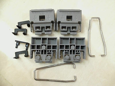 HP/Agilent 5041-9167 Instrument Feet with 1460-1345 stands , lock clips