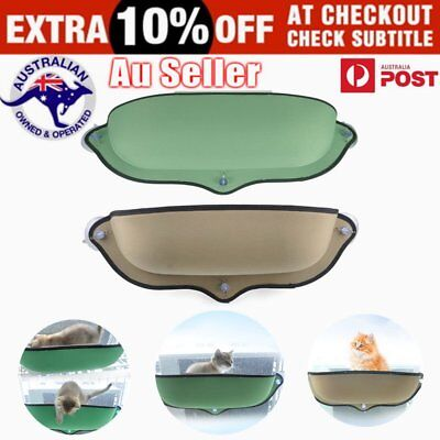 Removable Cat Window Mounted bed Seat Pets Sunny Hammock Cover  X@