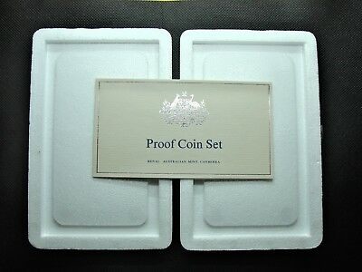 *Good clean used foams for Australian proof sets 1969 to 1984 with certificates!