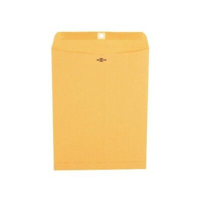 100ct Universal Clasp Envelope Side Seam 28lb 10 x 13 Kraft Heavyweight Kraft