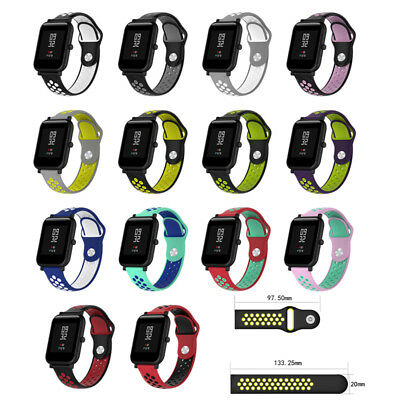 Mode  Remplacement Bracelet silicone sport pour Huami Amazfit Bip Youth Watch