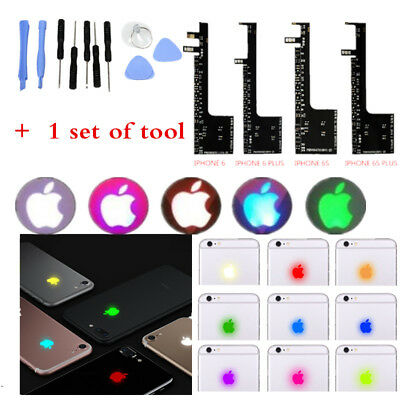 15 Color Touchable Intelligent Led Light Touch Glowing Logo For iPhone 6s 7 Plus