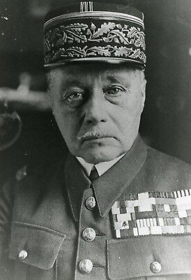 Le General Maurice Gamelin Photo De Presse