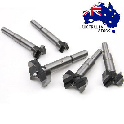 6X Woodworking Hinge 15mm Boring Hole Saw Drill Bit Set for Wood Plastic Plywood