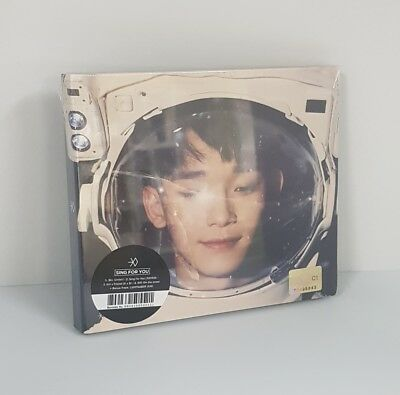 EXO [Sing For You] Winter Special [Chinese ver] CHEN Ver CD+Photobook+Photocard