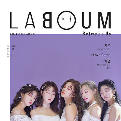 LABOUM [BETWEEN US] 5th Single Album CD+POSTER+PhotoBook+Photo Card K-POP SEALED