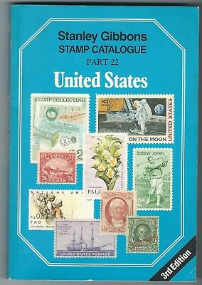Stanley Gibbons Catalogue Part 22 United States 3rd edition