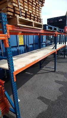 Racking Garage Shelving Warehouse Storage Boxes Forklift Pallet Wrap Container