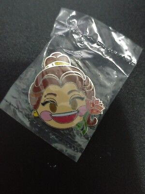 Disney Hong Kong HKDL Pin- 2017 Emoji Mystery Tin Collection -Beauty Beast Belle