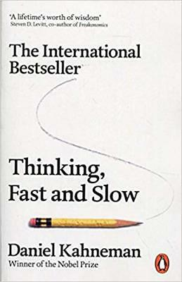 NEW Thinking, Fast and Slow by Daniel Kahneman Paperback (Free Shipping)