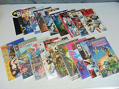 Mixed Lot 18 Vintage Comic Books Various Rare Attic Junk Drawer Find