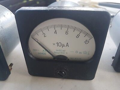 "Ammeter М1400 series ""STRENGTH"" 1984s VINTAG  VERY RARE  USSR"