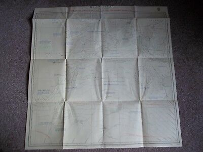 Vintage Admiralty Sea Chart Indian Ocean (May-Oct) 5213