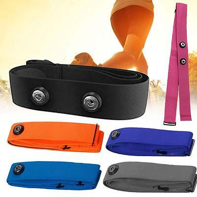 Soft Fabric Heart Rate Monitor Sports Chest Belt Strap for Polar Wahoo Garmin TR