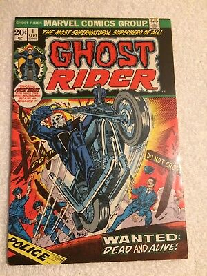Ghost Rider #1 (Sep 1973, Marvel) Immaculate Condition