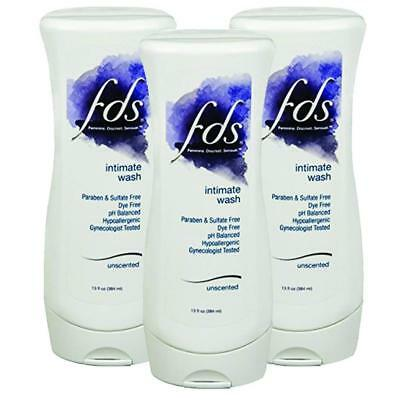 FDS Feminine Wash 13 fl oz Unscented -Pack of 3