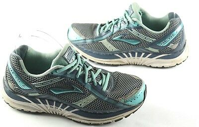 97579db4184 Brooks Dyad 7 Womens Size 9.5 Wide Running Shoes Blue Athletic Sneakers