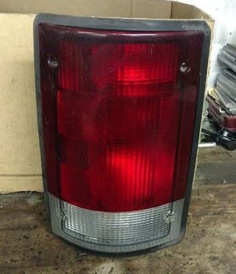 Ford E-Series Van Tail Light Driver Side Includes Bulbs Oem 1995-2003