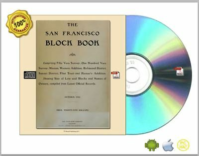 The San Francisco block book Collection 1901-1910 Digitized to CDROM