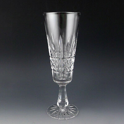 """Waterford Crystal KYLEMORE Fluted Champagne Flute Glass 7 3/4"""" Ireland Made"""