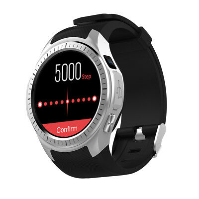 Bluetooth Smart Watch Sports GPS Camera GSM SIM for Android iOS iPhone Samsung