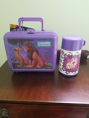 Aladdin brand Lion King lunchbox and thermos