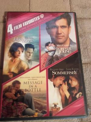 4 Film Favorites: Love Stories Collection (DVD, 2011, 2-Disc Set) NEW