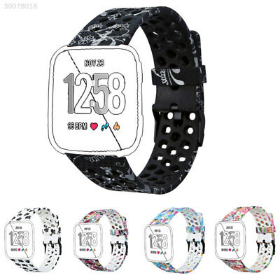 Replacement Band Sport Breathable Silicon Strap / Tempered film For Fitbit Versa