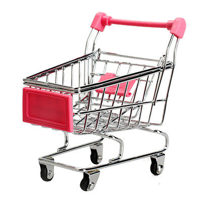 Trolley -Supermarket  Shopping - Miniature - Child's  Play Toy Gift -  BRAND NEW