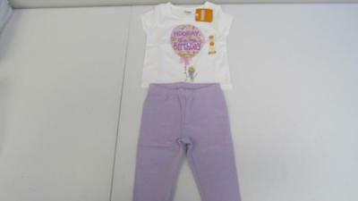 GYMBOREE Birthday Girl Outfit Shirt Leggings Crown Headband Size 2T 4T NEW