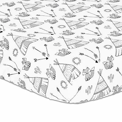 Southwest Dreams Fitted Crib Sheet by The Peanut Shell