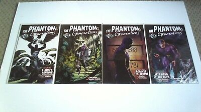 Phantom : Generations (2009) #10-13, 10 11 12 13 Final Issues Moonstone Run 1762