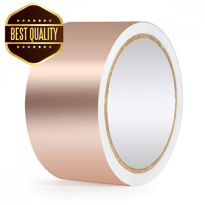 URXTRAL Copper Foil Tape with Dual Conductive Adhesive for EMI...