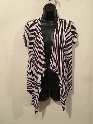 4ececf9d50b INC INTERNATIONAL CONCEPTS Womens Open Front Cardigan Black Size S ...