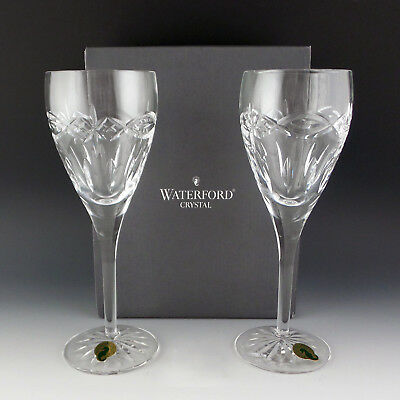 Waterford Crystal DOLMEN Claret Wine Glass 8 1/4 Celtic Knot NOS Mint Condition