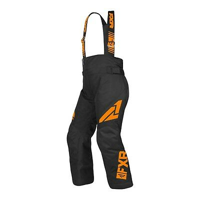 2019 Fxr Child Clutch Pant - Snowmobile - Winter - Flotation Assist-Black Orange