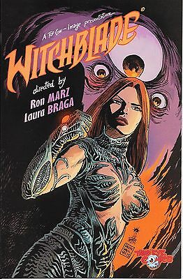 Witchblade # 170 Third Eye Exclusive Cover With Blank Sketch Cover on back VHTF